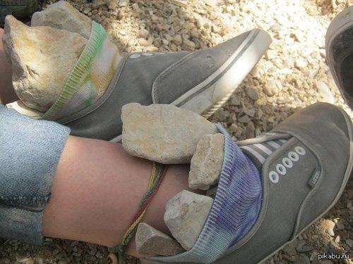 Why not? опять камень в ботинок попал!