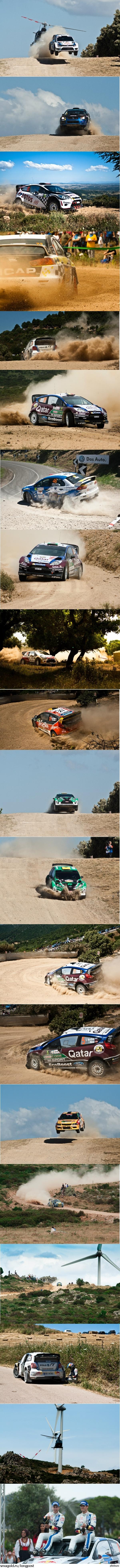 WRC Rally Сардиния 2013 Фотографировала сама.