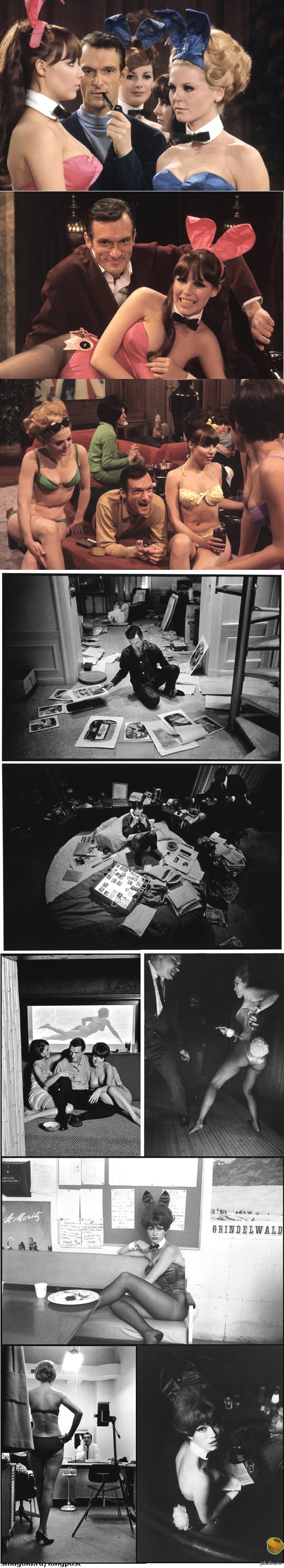 Молодой Хью Хефнер  и классика Playboy Хью Хефнер — американский издатель, основатель и шеф-редактор журнала Playboy, а также основатель компании Playboy Enterprises.