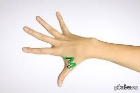 Тату между пальцев и их значение 52