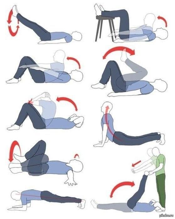 Эффективные упражнения на нижний пресс для похудения