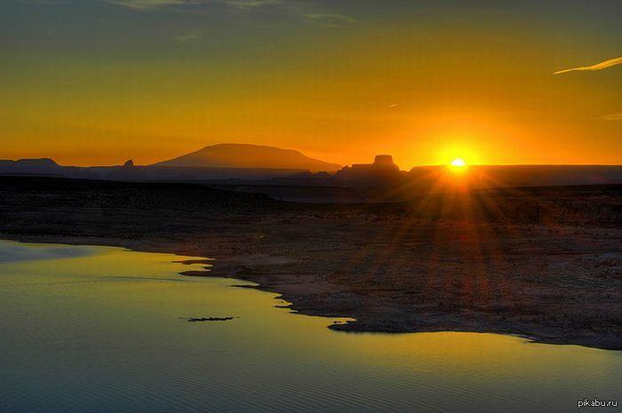 фото красивый восход солнца