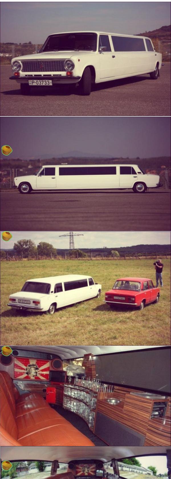 «Жигулимо» 9 мая прошлого года в Будапеште был показан лимузин на основе ВАЗ 2101 дизайнера Аттила Хорвата. Этот проект носит оригинальное название «Жигулимо».