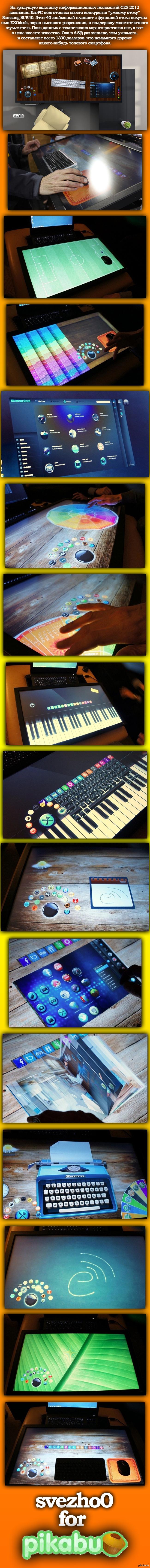 Стол-планшет EXOdesk диагональю 40 дюймов