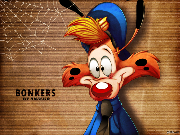 Bonkers Чокнутый Рыжая Рысь - кто помнит и знает этого милаху?)