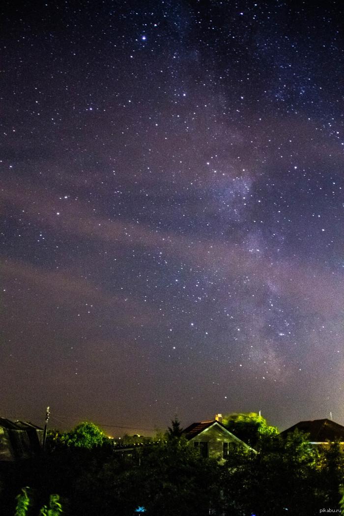 Звездная ночь Побережье Азовского моря