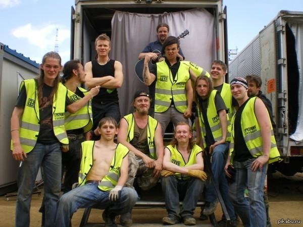 Раз уж на то пошло, мое фото с The Rasmus Монстры рока г. Владивосток 2009 год