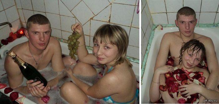 русская голая тётя в душе