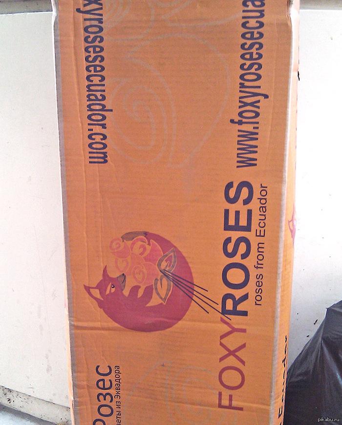 Mozilla - крупнейший поставщик цветов Надолго завис, увидев логотип...