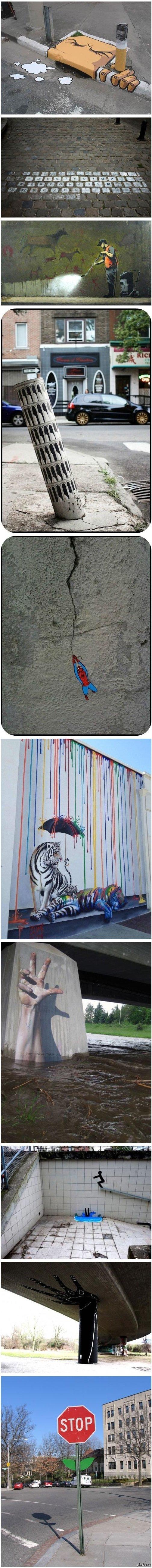 Креатив на улицах города