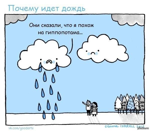 Картинки про дождь приколы, дети цветы картинки
