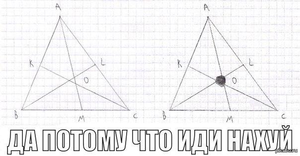 Приколы геометрии картинки, открытки