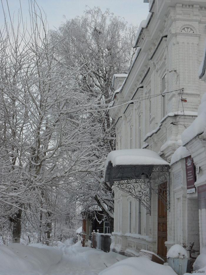 Уютная зима в г.Чердынь