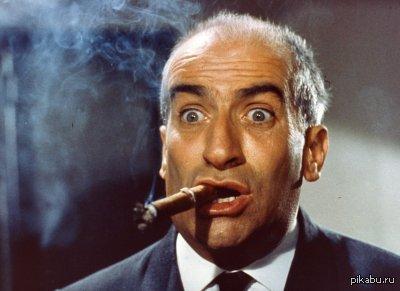 Лую де Фюнес умер 27 января 1983 года просто я сидел, узнал и ...