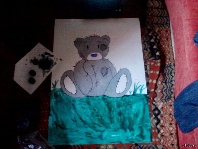 Рисовал для любимой, потрачено 2 часа и много нервов
