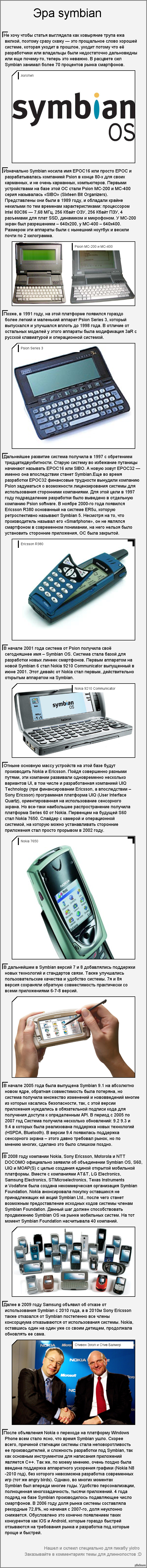 Эра symbian
