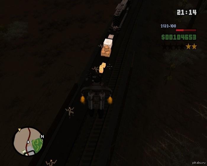 Поезд везет усталых военных отдыхать