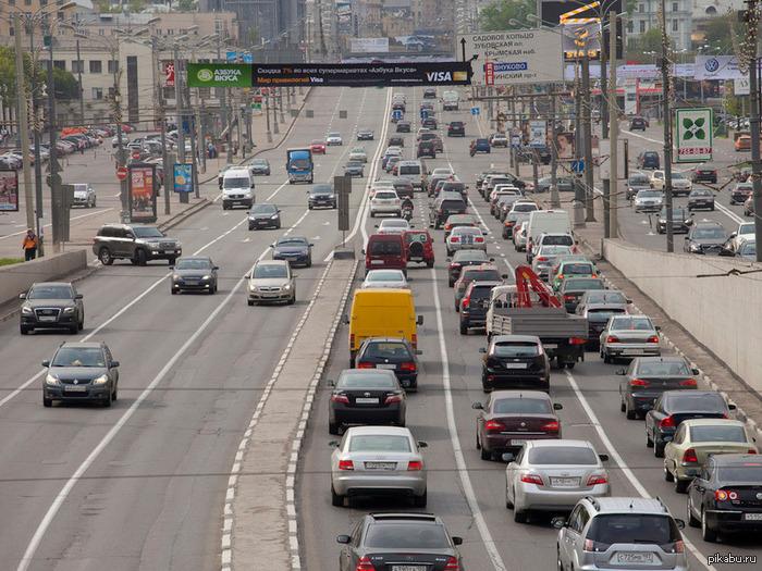 Порноролик на серпуховском шоссе