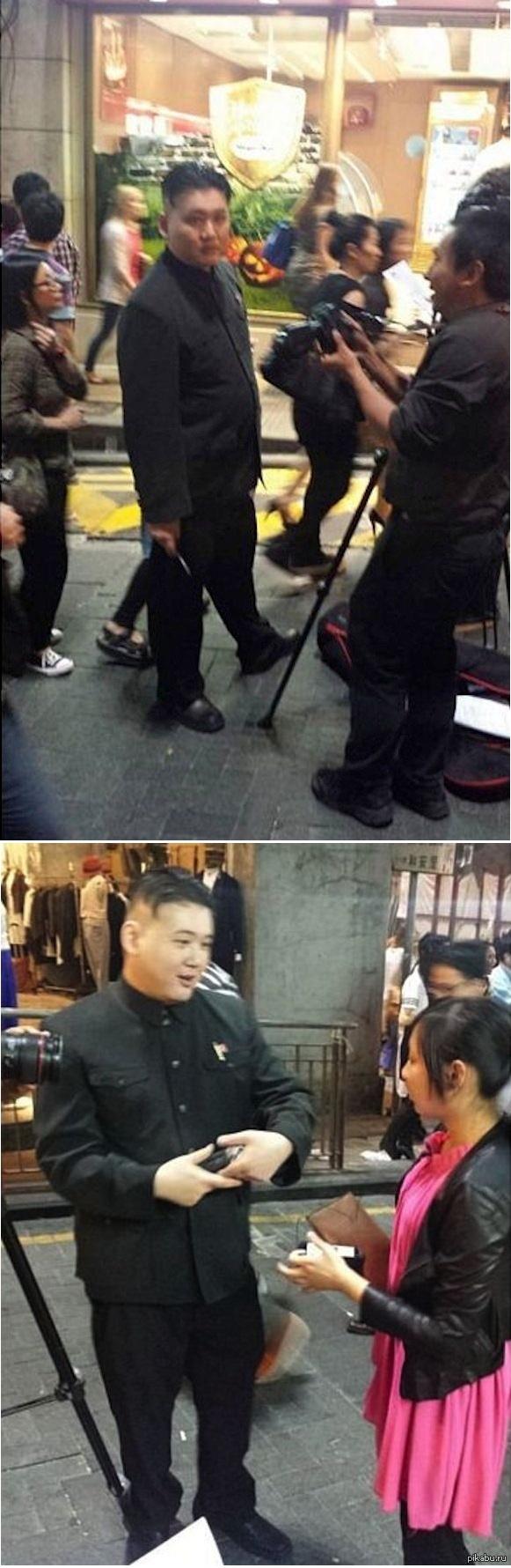 Косплей Ким Чен Ына Говорят, после этого его больше не видели