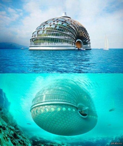 фото подводный отель