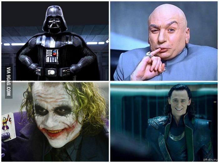 Смешные картинки про злодеев
