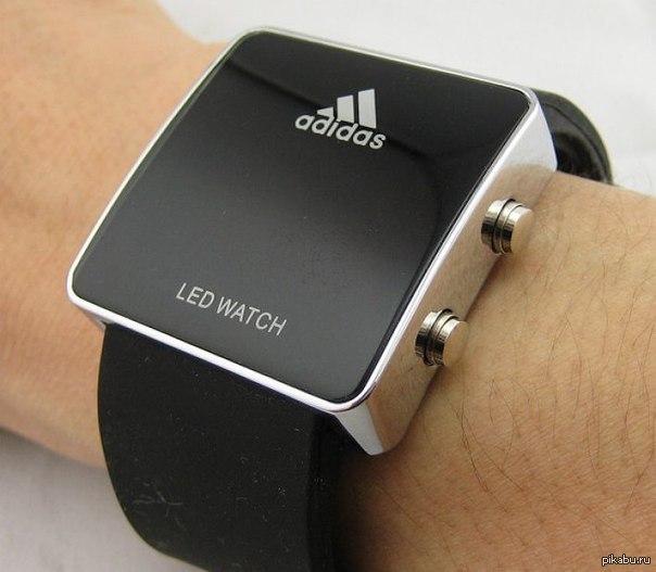 Часы Led Watch: описание и инструкция