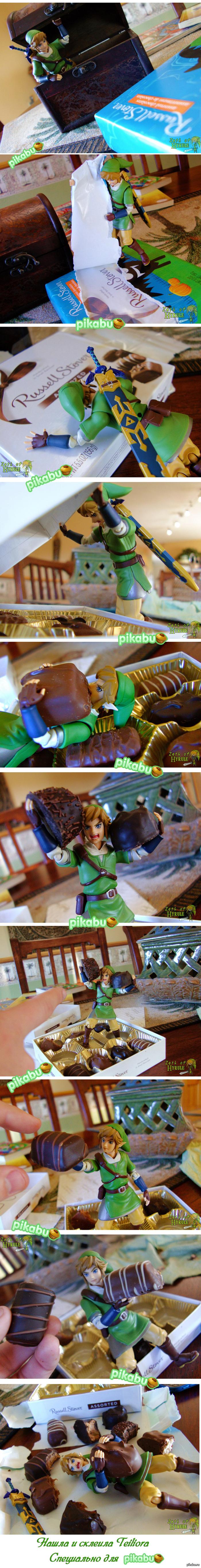 Link и шоколад длиннопост