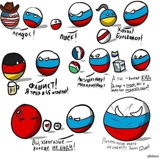 Почему не любят россию во всем мире