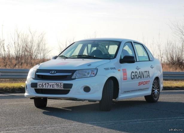 Новое фото Lada Granta Sport Light за 749 000 рублей