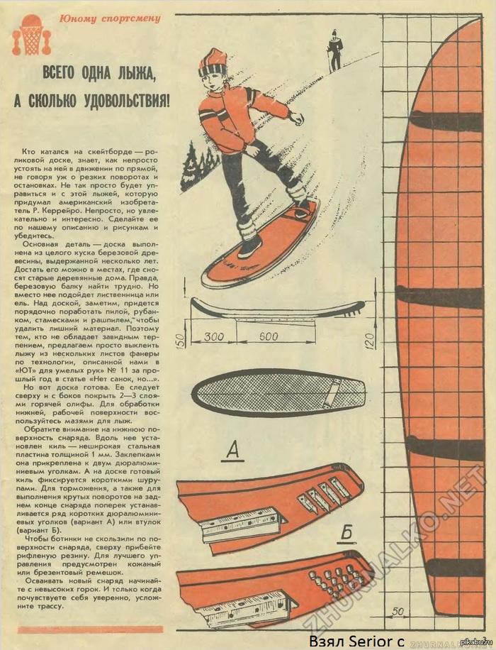 Юный техник - для умелых рук 1988-01, страница 3.  Старое доброе.