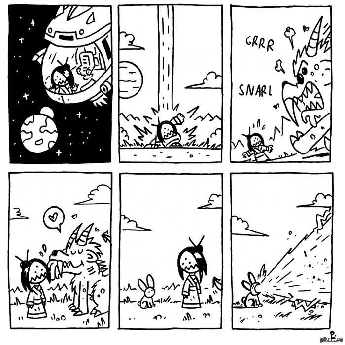 Суть монстров в Starbound Честно украдено.