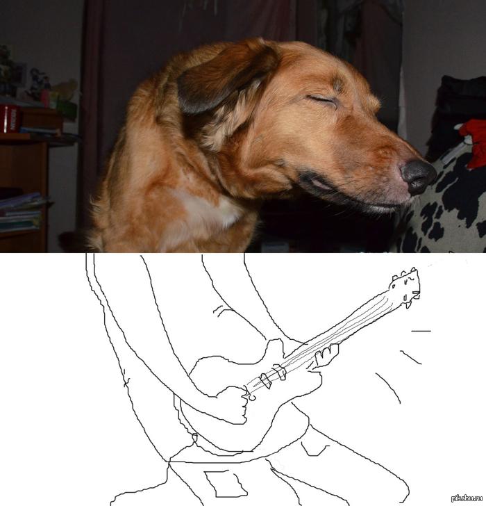 Rock-dog Особенно под песню Ram Jam – Black Betty