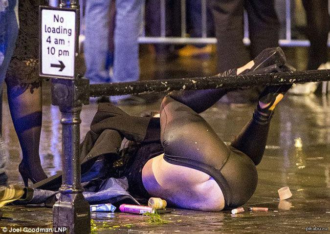 фото пьяных и на улице оргии