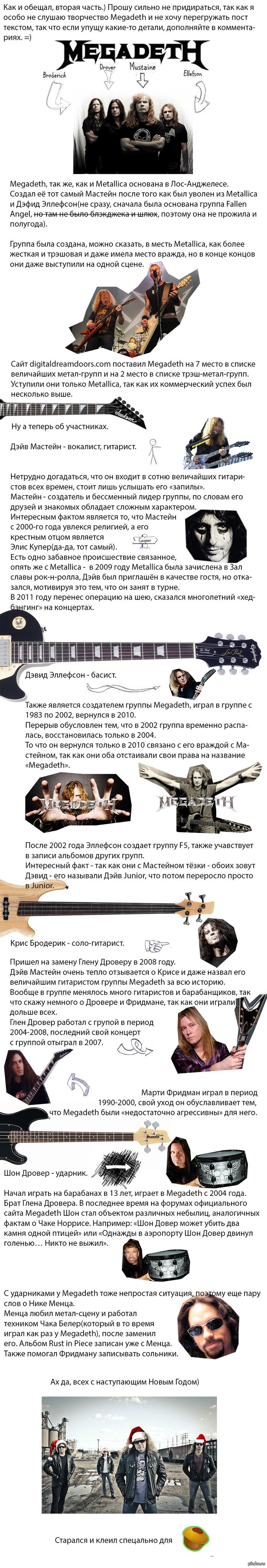 Большая Четверка трэш-метала ч.2 Megadeth