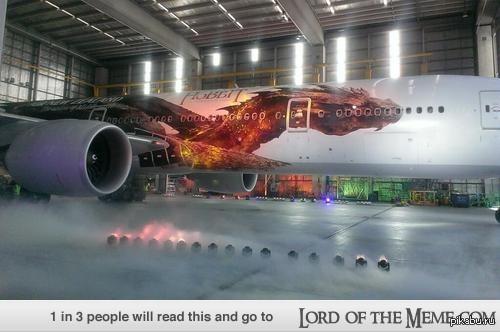 Самолет Смауг. Авиалинии Новой Зеландии