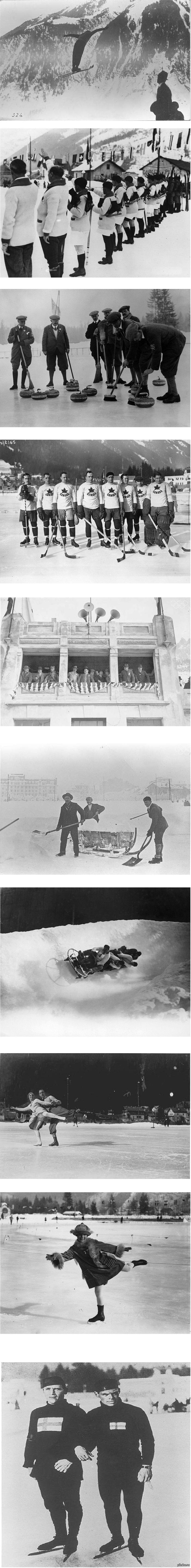 Первые зимние Олимпийские игры Первая зимняя Олимпиада состоялась в 1924 году в Шамони, Франция. Всего на играх принимали участие 16 стран. Было разыграно 16 комплектов наград.