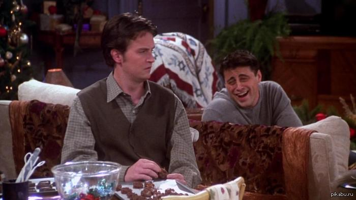 Tribbiani face :D Смотрел друзей и тут Джо мне кое кого напомнил...