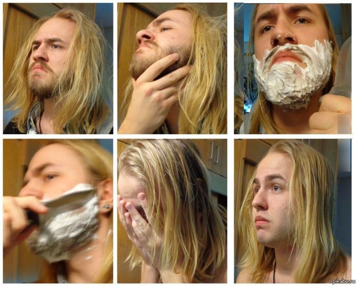 фото приколы мужчин когда бреются хирургия очень