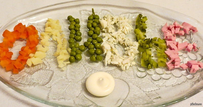 фото рецепт оливье