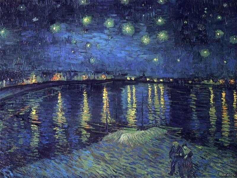 "starry night over the rhone by The words ""starry night"" invoke the image of one of van gogh's most well-known paintings however, van gogh painted another, starry night over the rhône."