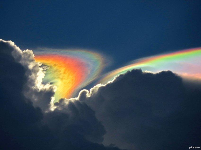 самые необычно красивые фото радуги