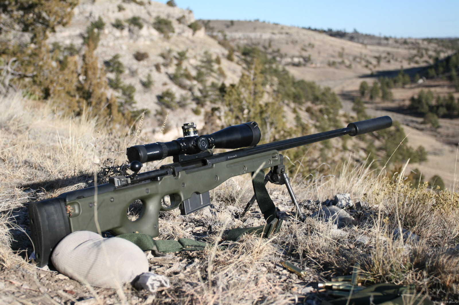 armys long serving sniper rifle - HD1920×1280