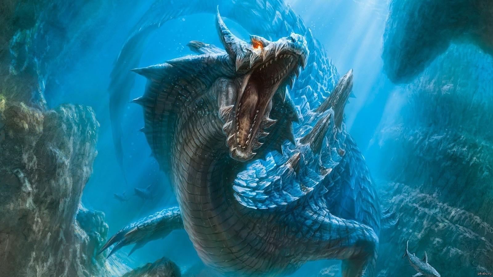 морской змей фото