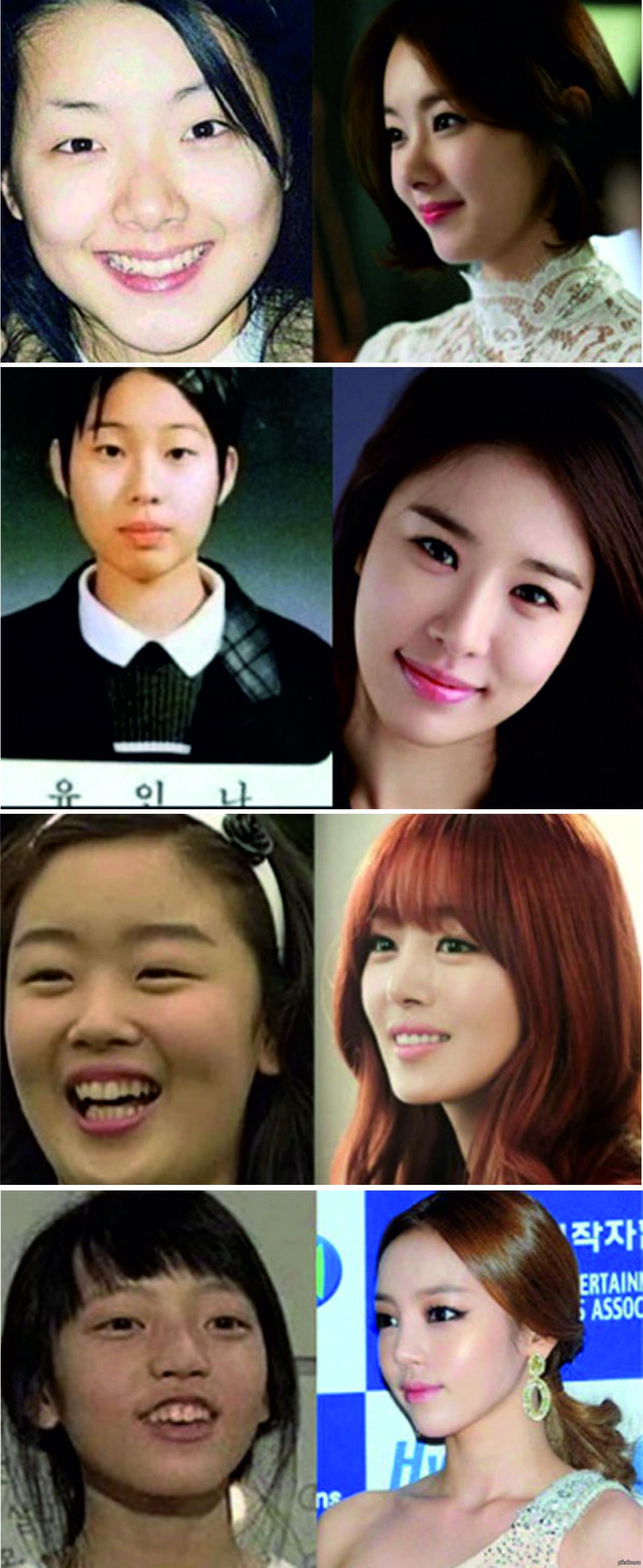 Корейские звезды без макияжа фото
