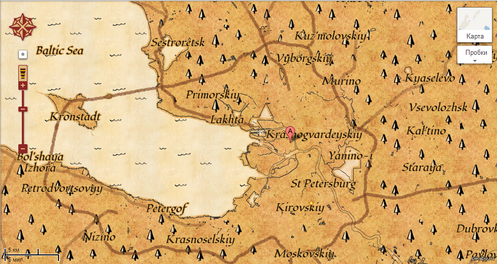 карта сокровищ картинка
