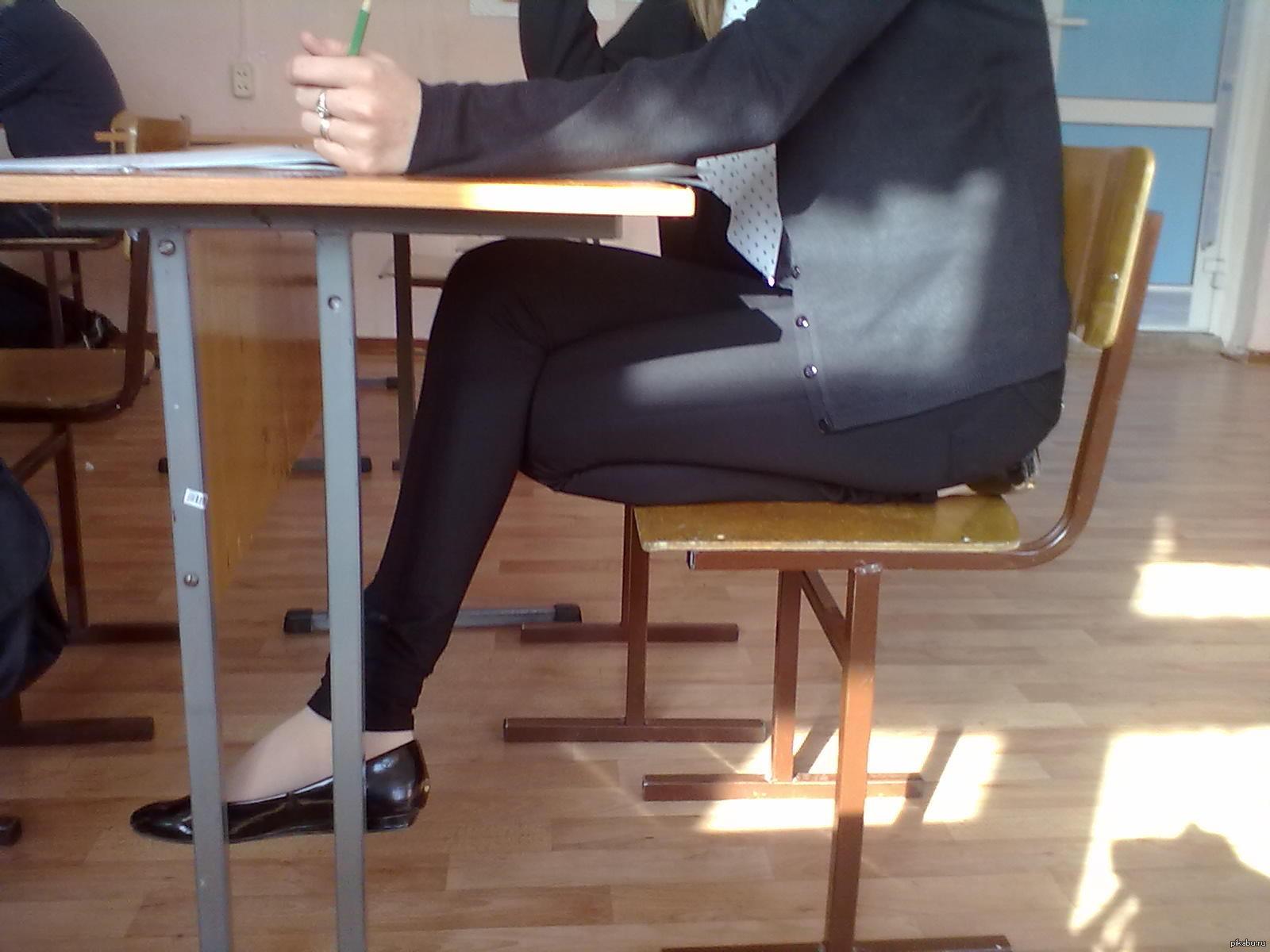 Ноги одноклассницы