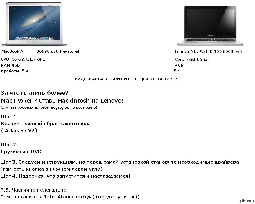Ненавижу Apple за стоимость! Ставим хакинтош