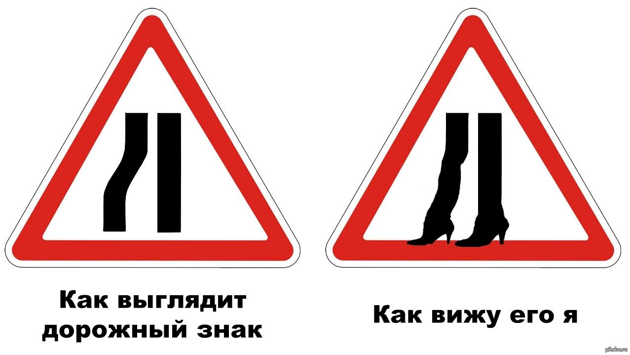 Дорожные знаки картинки с надписями прикольные