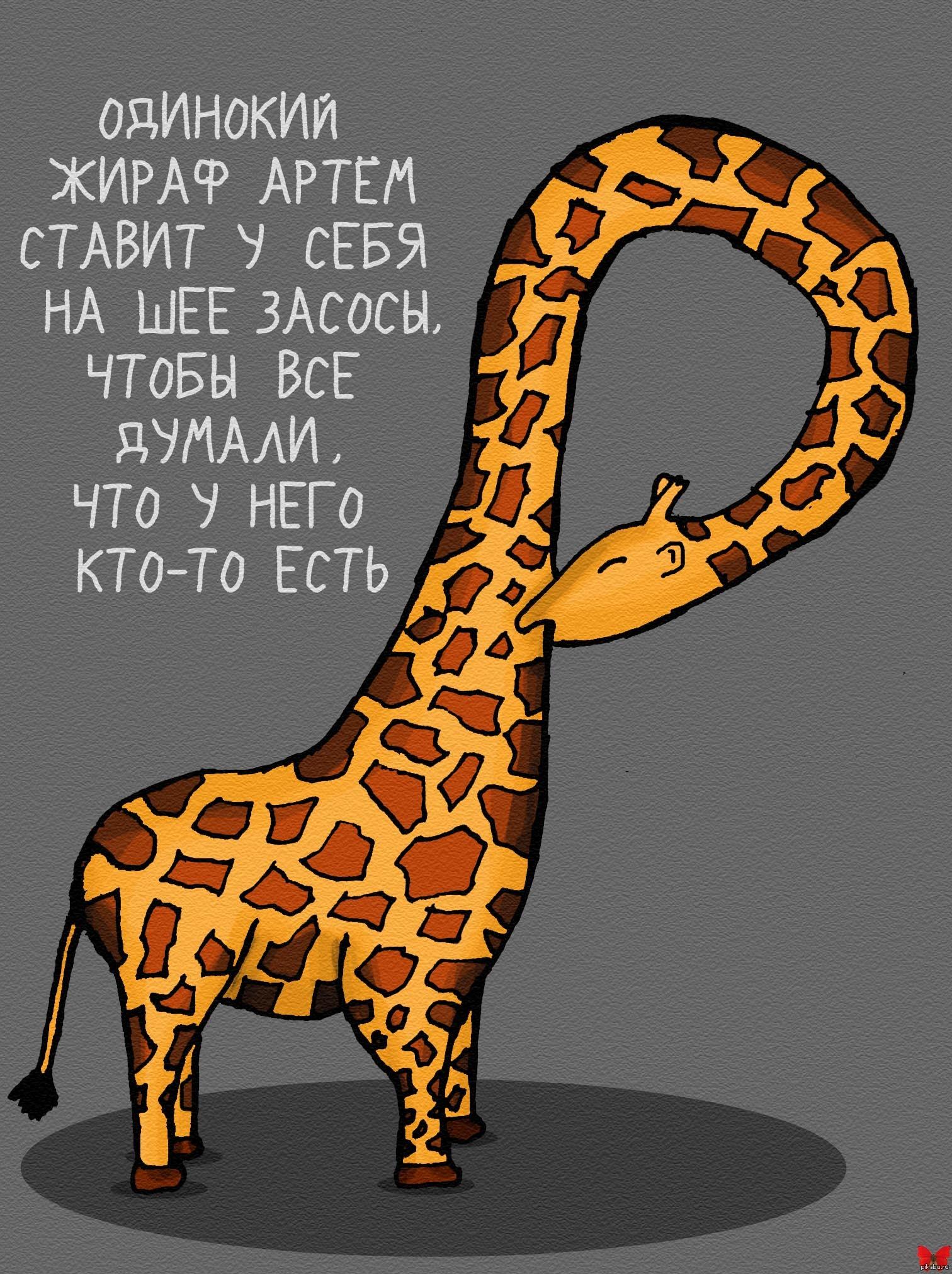 Интернет магазина, картинка с жирафом и надписью