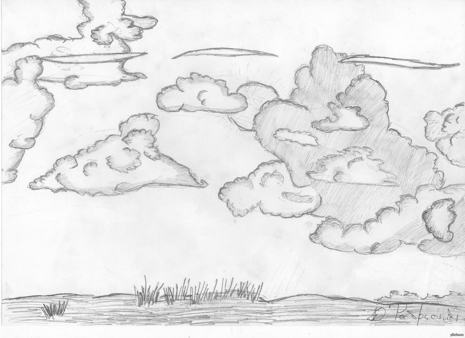 рисунок красоты неба карандашом путеводитель прекрасный способ